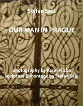 cover of our man in prague
