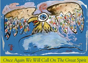 cover of once again we will call on the great spirit